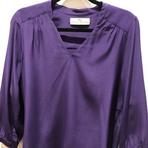 Dark purple blouse